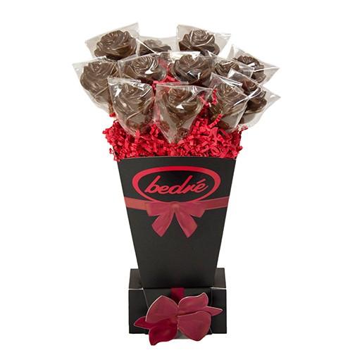 Roses Lollipop Gift Vase