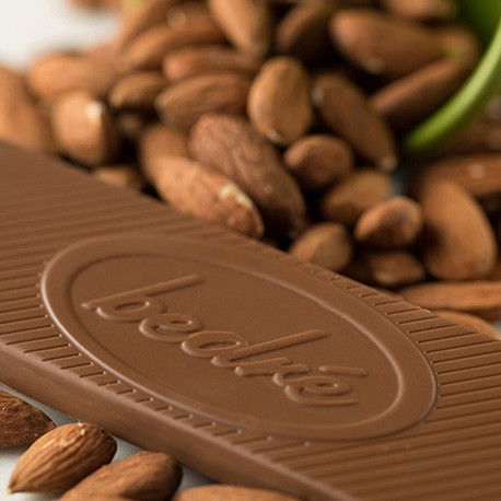 Bedré Milk Chocolate Almond Bar