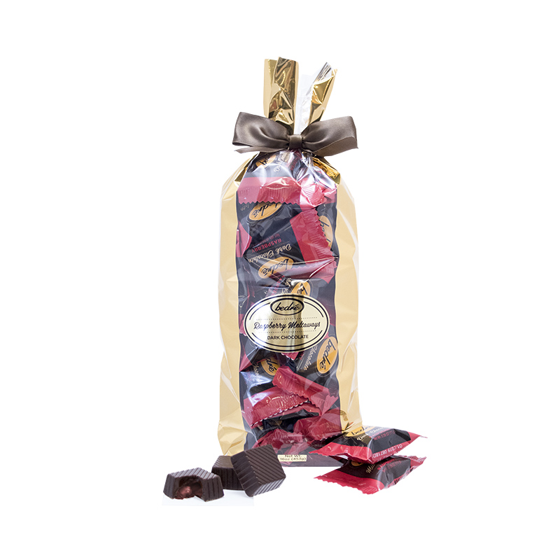 Dark Chocolate Raspberry Meltaway Gift Bag