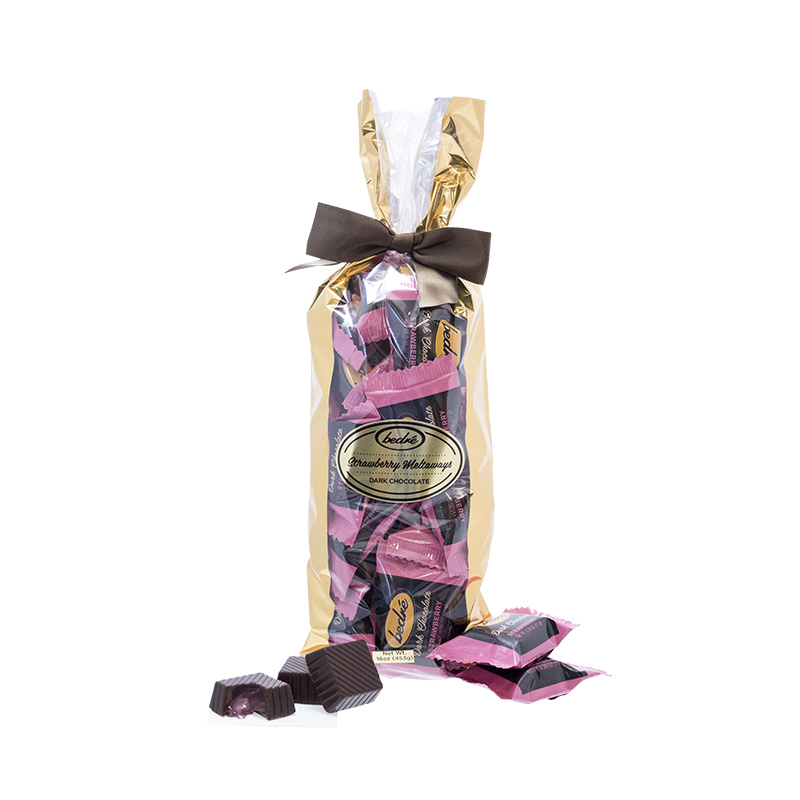 Dark Chocolate Strawberry Meltaway Gift Bag