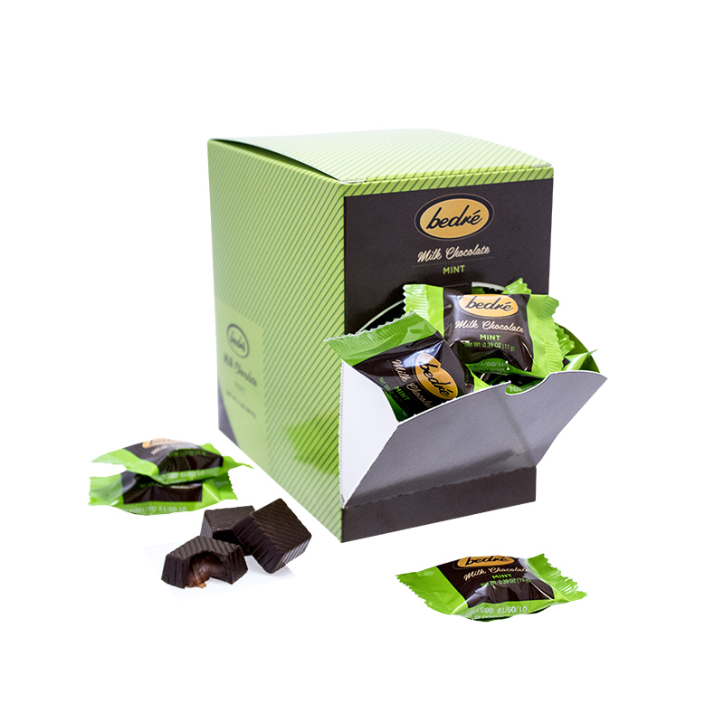Milk Chocolate Mint Meltaways Box
