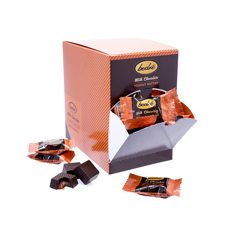 Milk Chocolate Peanut Butter Meltaways - 2lb Box