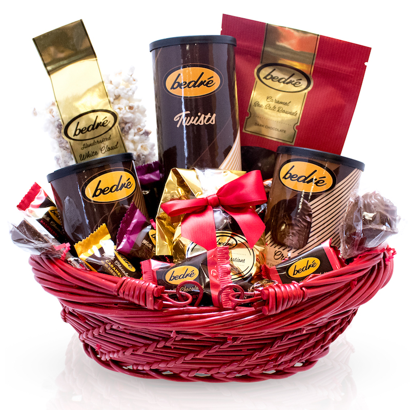 Mother's Day Red Gift Basket