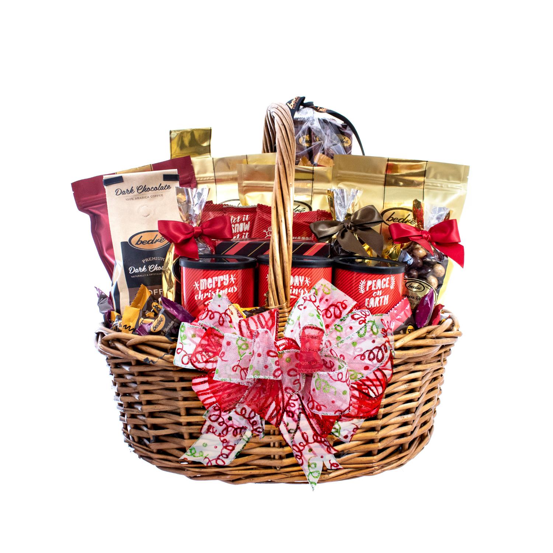 Bedré Classic Christmas Basket - Bedré Fine Chocolate