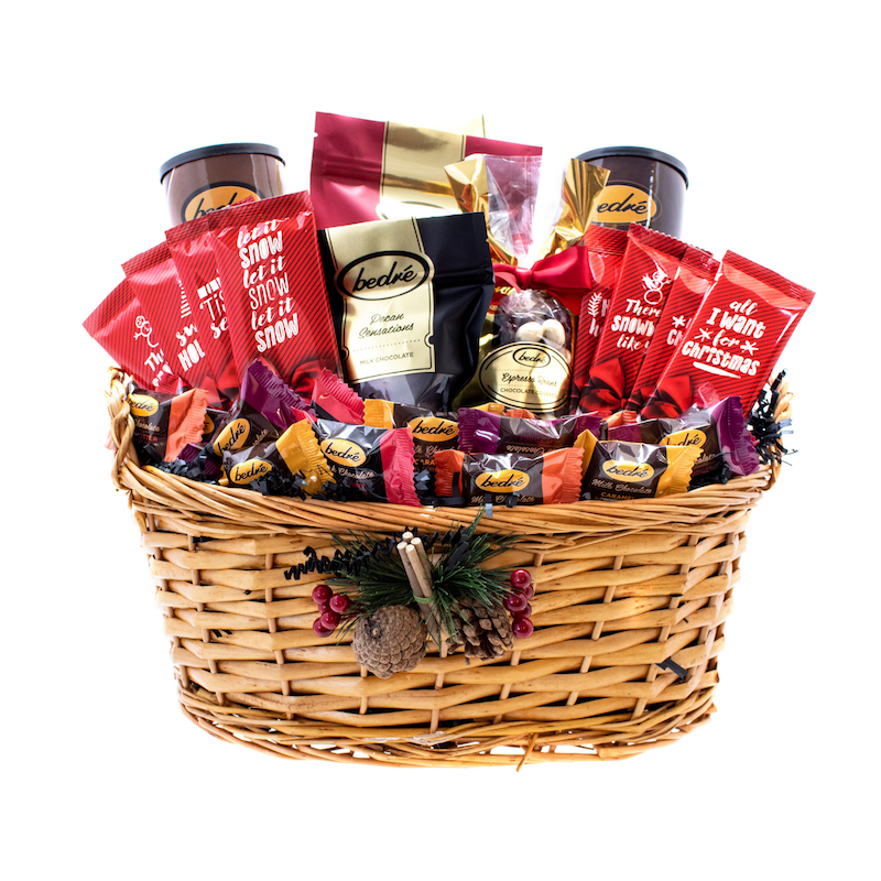 Country Christmas Holiday Basket