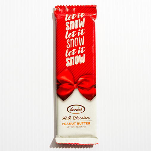Holiday Milk Chocolate Peanut Butter Bar
