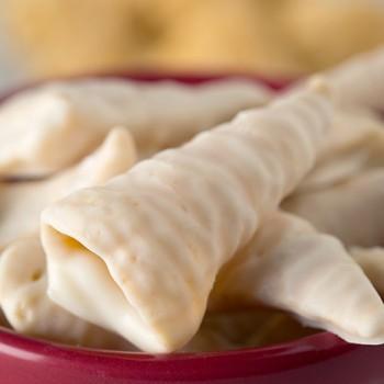 White Fudge Twists