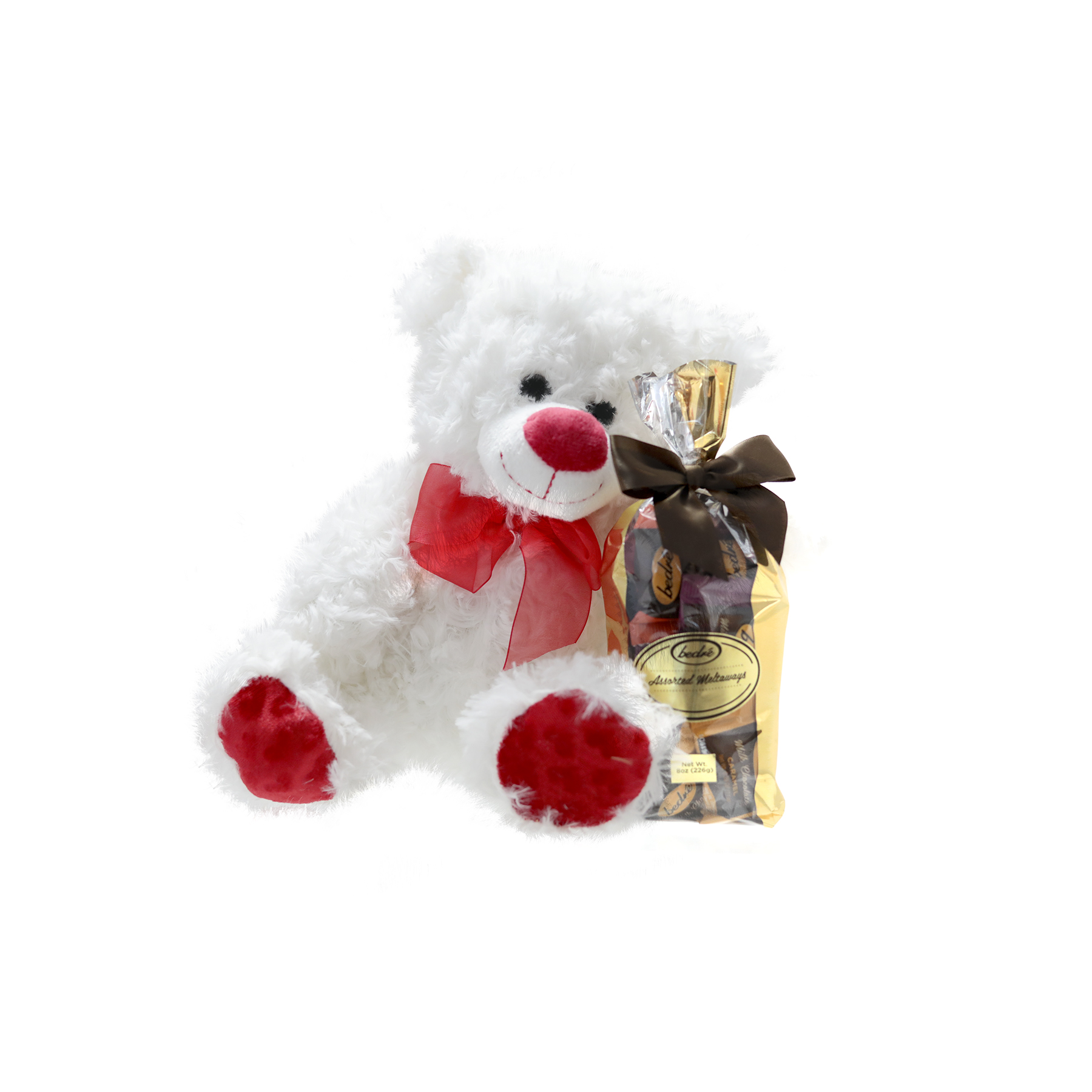 Valentine's Day Bear Gift with chocolate