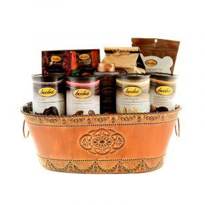 Chocolate Gift bucket in tin