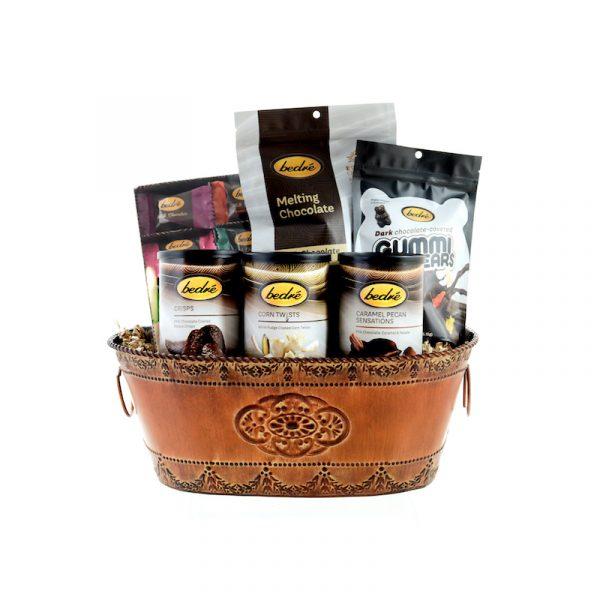 medium gift of gourmet chocolate